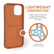 Urban Armor Gear Biodegradeable Outback Case for iPhone 12 Pro Max (orange) 10