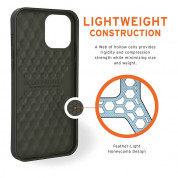 Urban Armor Gear Biodegradeable Outback Case for iPhone 12 Pro Max (olive) 6