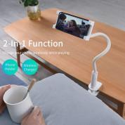 Choetech Wireless Charger Mount - поставка за бюро с безжично зареждане за Qi съвместими устройства (бял) 1