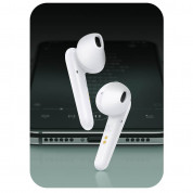 USAMS SD001 TWS Earbuds with Charging Case (white) 3