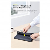 Baseus Folding Series 13 Laptop Sleeve (LBZD-A02) - водоустойчив стилен калъф за Macbook Pro 13, Air 13 и лаптопи до 13 инча (бял) 10
