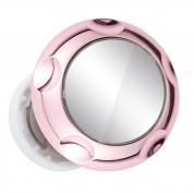 Jumpop Smartphone-Fingerholder - поставка и аксесоар против изпускане с огледало на вашия смартфон (розово злато-гланц) 4