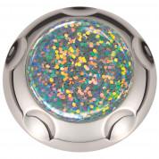 Jumpop Glamour Silver Glitter Smartphone-Fingerholder - поставка и аксесоар против изпускане на вашия смартфон (сив-гланц) 1