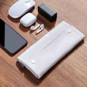 Baseus Folding Series 16 Laptop Sleeve (LBZD-B02) - водоустойчив стилен калъф за Macbook Pro 16 и лаптопи до 16 инча (бял) 15