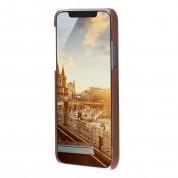 JT Berlin BackCase Kreuzberg - кожен кейс (естествена кожа) за iPhone 11 Pro Max (кафяв) 2