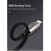 Baseus Lightning Male to Lightning 3.5mm Female Adapter L56 (CALL56-0A) - Lightning адаптер с Lightning порт и 3.5 мм аудио вход за устройства с Lightning порт  11