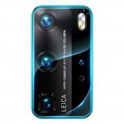 Baseus Lens Tempered Glass Protector - предпазно стъклено покритие за камерата на Huawei P40 Pro (прозрачни) (2 броя) 1