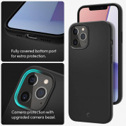 Spigen Cyrill Silicone Case for iPhone 12, iPhone 12 Pro (black) 9