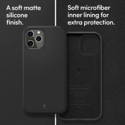 Spigen Cyrill Silicone Case for iPhone 12, iPhone 12 Pro (black) 8