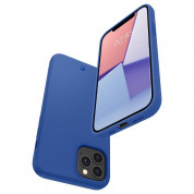 Spigen Cyrill Silicone Case for iPhone 12, iPhone 12 Pro (navy) 5