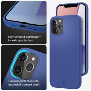 Spigen Cyrill Silicone Case for iPhone 12, iPhone 12 Pro (navy) 9