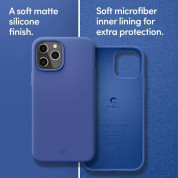 Spigen Cyrill Silicone Case for iPhone 12, iPhone 12 Pro (navy) 8