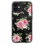 Spigen Cyrill Cecile Case Pink Floral for iPhone 12 mini (pink floral) 1