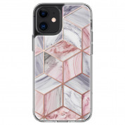 Spigen Cyrill Cecile Case Pink Marble for iPhone 12 mini (pink) 1