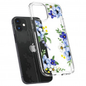 Spigen Cyrill Cecile Case Midnight Bloom for iPhone 12 mini (blue) 5