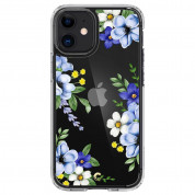 Spigen Cyrill Cecile Case Midnight Bloom for iPhone 12 mini (blue) 1