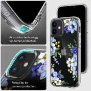 Spigen Cyrill Cecile Case Midnight Bloom for iPhone 12 mini (blue) 8