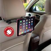 Macally Dual Position Car Seat Headrest Mount - поставка за смартфон или таблет за седалката на автомобил (черен) 14