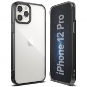 Ringke Fusion Crystal Case for iPhone 12, iPhone 12 Pro (gray) 2