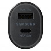 Samsung Super Fast Dual Car Charger (45W+15W) (EP-L5300XBEGWW) (black) 3