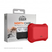 Eiger North AirPods Pro Protective Case for Apple Airpods Pro (swiss red)