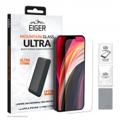 Eiger Mountain Glass Ultra Tempered Glass Screen Protector for iPhone 12, iPhone 12 Pro