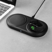 Baseus Planet 2in1 Wireless Charger (black) 7
