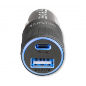 4smarts Car Charger Rapid+ 27W with Quick Charge with PD (black) 2