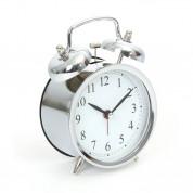 Platinet Zegar Alarm Clock March - будилник с ретро дизайн (сребрист) 2