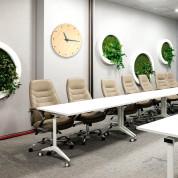 Platinet Zegar Wall Clock June - стенен часовник (кафяв) 2