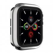 SwitchEasy Odyssey Case - удароустойчив хибриден кейс за Apple Watch 44мм (сребрист) 4