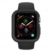 SwitchEasy Colors Case - термополиуретанов удароустойчив кейс за Apple Watch 40мм (черен) 4