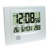 Platinet Zegar Alarm Clock With Temperature - дигитален LCD часовник с термометър