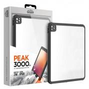 Eiger Peak 3000m IP68 Case - ударо и водоустойчив калъф от най-висок клас за iPad Pro 11 (2020) (черен)