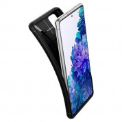 Spigen Rugged Armor Case - удароустойчив силиконов (TPU) калъф за Samsung Galaxy S20 FE (черен) 4
