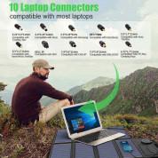 Сгъваем соларен панел 40W зареждащ директно вашето устройство от слънцето - Allpowers Solar Charger 40W (черен) 5