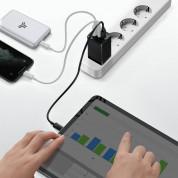 Baseus GaN 2 Pro Charger 65W (CCGAN2P-E01) - захранване за ел. мрежа за лаптопи, смартфони и таблети с USB и 2xUSB-C изходи с технология за бързо зареждане и USB-C кабел (черен) 2