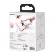 Baseus C2 Desktop Capsule Vacuum Cleaner - малка прахосмукачка с вградена презареждаема батерия (бял) 7