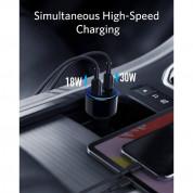 Anker PowerDrive+ III Duo 48W 2-Port PIQ 3.0 Fast Charger Adapter with Power Delivery - зарядно за кола с два USB-C изхода и технология за бързо зареждане (черен) 1