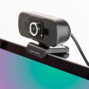 4smarts Webcam C1 Full HD with Microphone - уеб видеокамера 1080p Full HD с микрофон (черен) 4