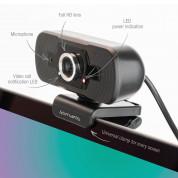 4smarts Webcam C1 Full HD with Microphone - уеб видеокамера 1080p Full HD с микрофон (черен) 5