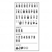 EasyMaxx 03037 - LED Text Light Box - светещо табло с букви (черно-бял) 4