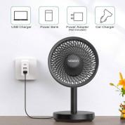 Voxon HDF02608BA01 USB Desk Fan - настолен USB вентилатор (черен) 2