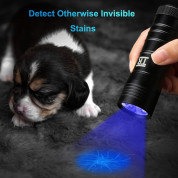 TechRise UV51801 UV 12-Led Flashlight Torch - джобен LED фенер с ултравиолетова светлина 1