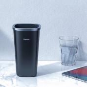 Baseus Vehicle-mounted Trash Can (CRLJT-A01) - алуминиев кош за отпадъци, подходящ за автомобил или офис с 90 броя резервни торбички (черен) 12