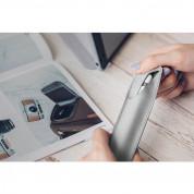 Moshi Apple Pencil Case - кожен калъф за Apple Pencil от веган кожа (сив) 6