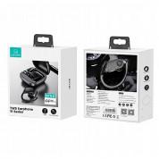 USAMS YI001 Ear Hook TWS Waterproof Earphones - безжични блутут слушалки със зареждащ кейс за мобилни устройства (черен) 11
