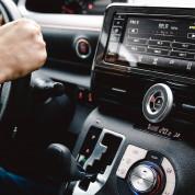 Switcheasy MagMount Car Mount - магнитна поставка за вентилационната решетка на автомобил за iPhone 12 (сребрист) 9