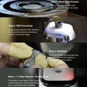 Ringke Bezel Styling - стоманена рамка с висока степен на защита за Apple Watch 44мм (лилав) 8
