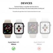 Ringke Bezel Styling - стоманена рамка с висока степен на защита за Apple Watch 40мм (син) 10